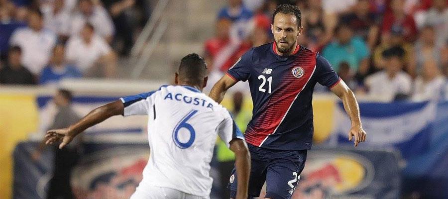 Costa Rica es favorito en las cuotas de apuestas deportivas ante Canadá en la Copa Oro 2017.