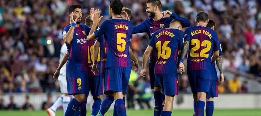 El FC Barcelona luce imparable, incluso en la UEFA Copa de Campeones.