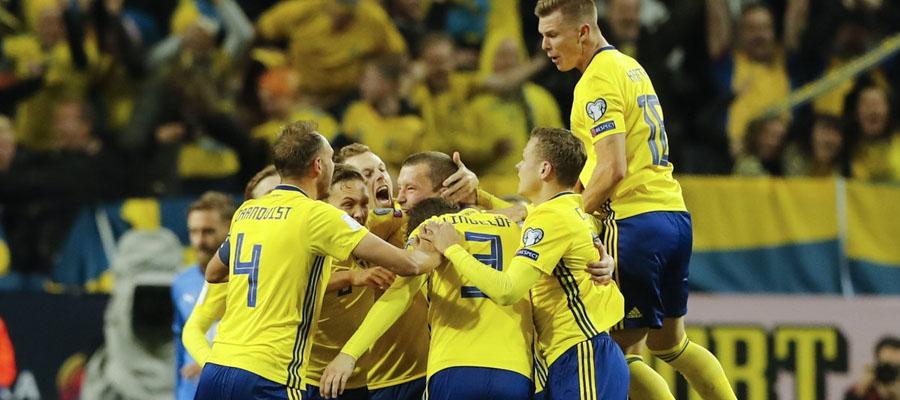 Suecia llega a Italia con la ventaja en el Repechaje UEFA Rusia 2018.