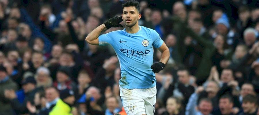 Sergio Aguero figura como uno de los goleadores de la Premier League con 12 tantos.