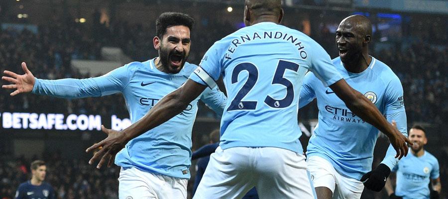 Manchester City busca su decimonovena victoria consecutiva en Premier League.