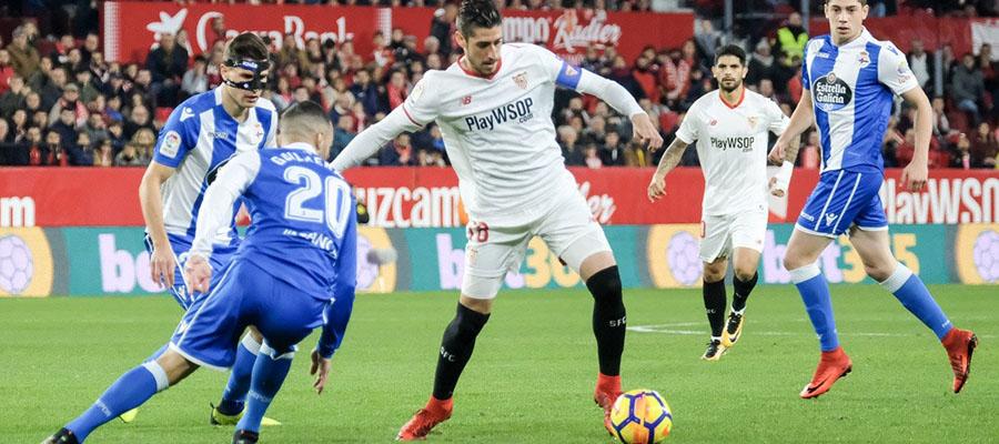 Sevilla espera terminar el año entre los primeros cuatro lugares de La Liga.
