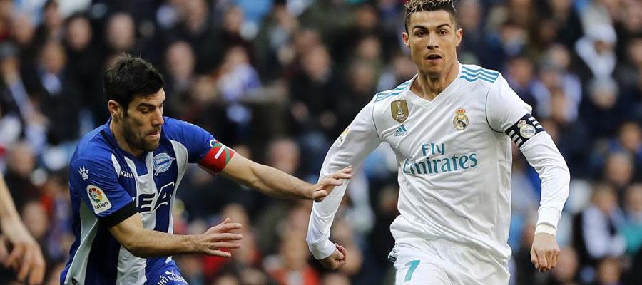 Cristiano Ronaldo y compañía vienen de golear al Deportivo Alavés por La Liga.
