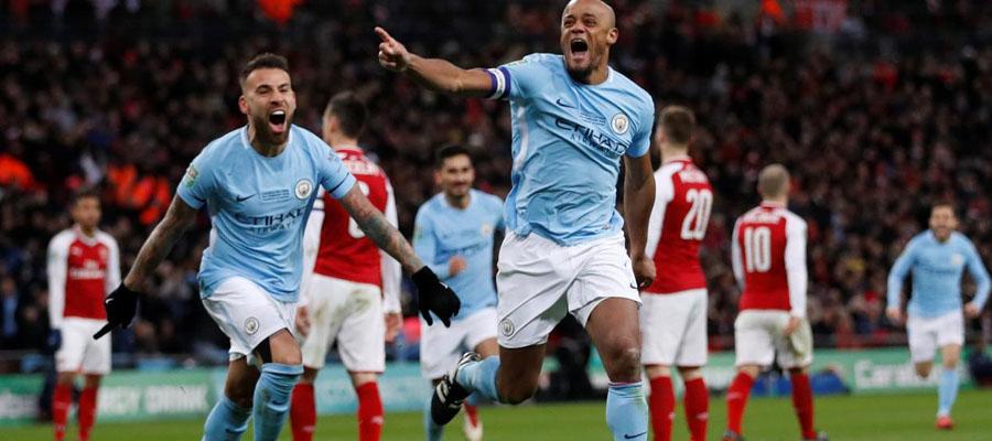 Manchester City lidera la Premier League sin problemas.
