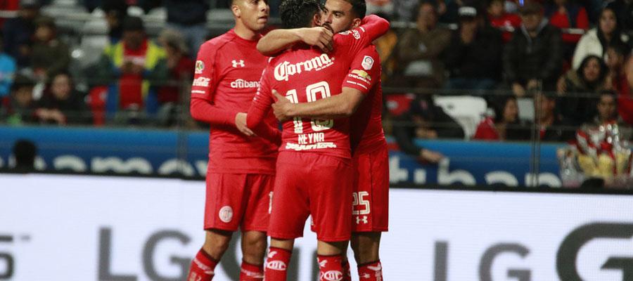 Toluca está acostumbrado a figurar en la Liga MX, pero hoy en día se encuentran en la décima posición.