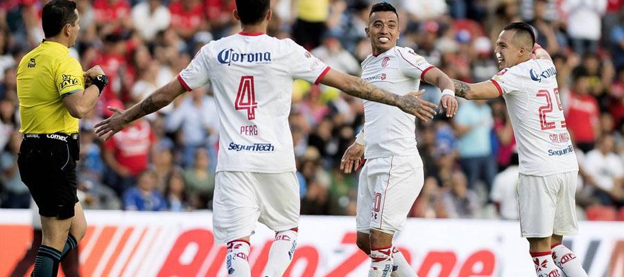 Toluca marcha entre los primeros lugares del Torneo Clausura 2018 de la Liga MX.