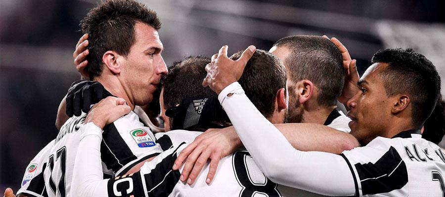 A pesar de ser visitantes, Juventus parte como favorita en las Apuestas Deportivas para el sábado.