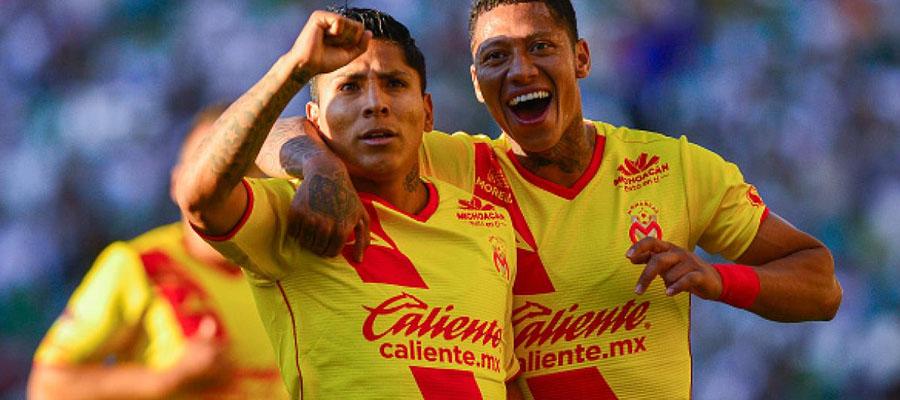 Morelia jugará como local, pero las Líneas de Apuesta Liga MX favorecerán a Toluca.