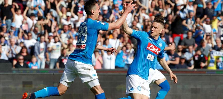 A pesar de jugar como visitante, Nápoli comanda las Líneas de Apuesta frente al AC Milán.