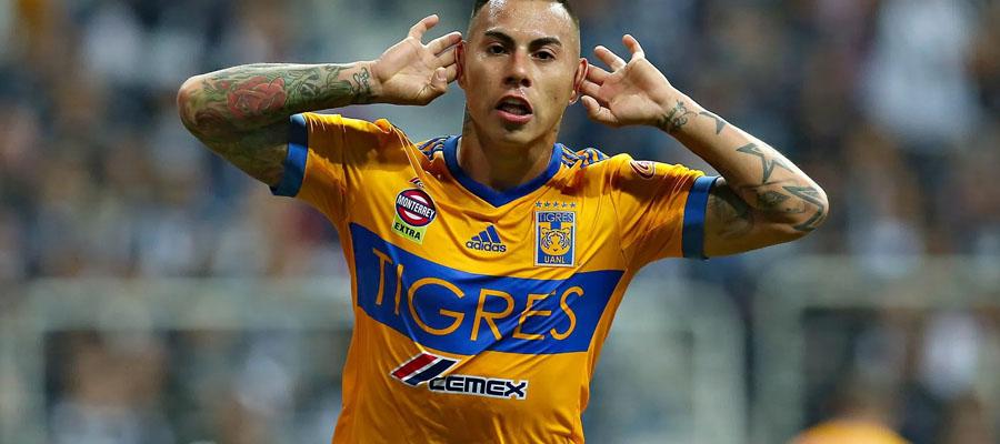 Tigres parte como favorito en las Apuestas Fútbol para esta jornada de la Liga MX.