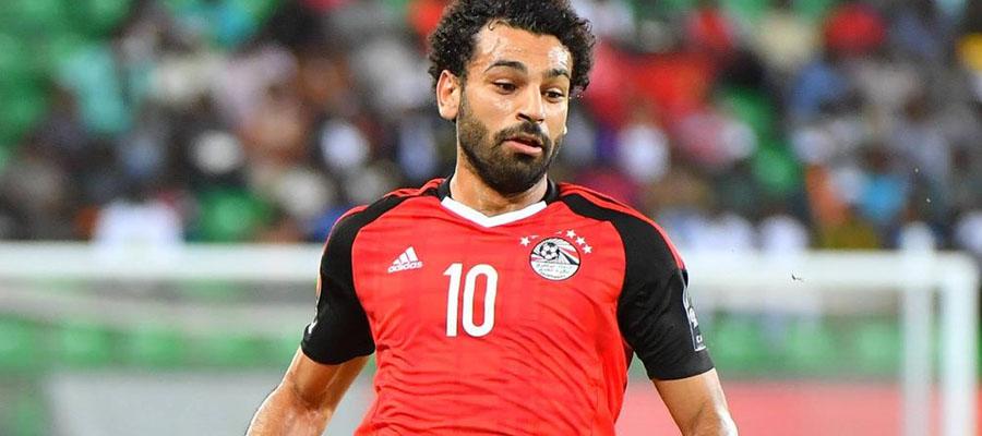 Mohamed Salah corre peligro de perderse la Copa Mundial Rusia 2018.