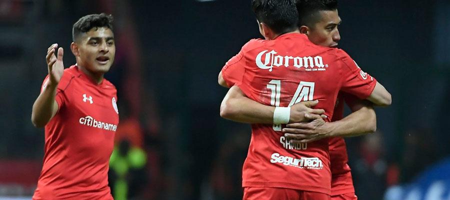 Toluca es favorito en las Apuestas Deportivas para coronarse campeón en la Liga MX.