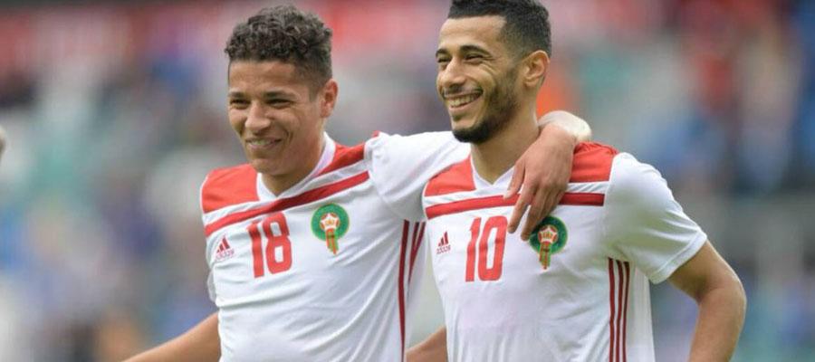 Marruecos espera debutar en el Mundial Rusia 2018 con una victoria ante Irán.