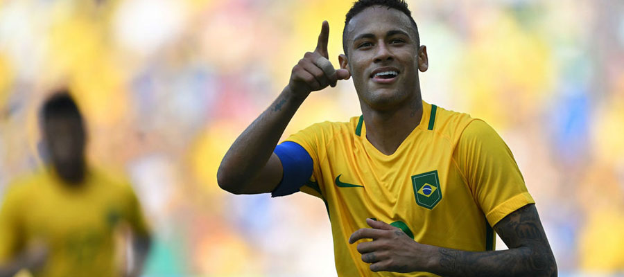 Neymar y Brasil son favoritos para ganar la Copa Mundial Rusia 2018.