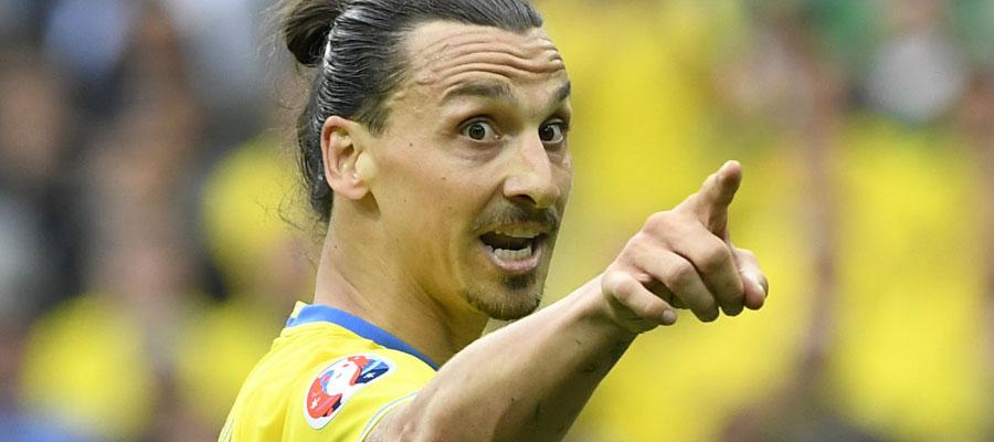 La ausencia de Zlatan Ibrahimovic es un golpe duro a los Pronósticos Deportivos Mundial Rusia 2018 para Suecia.