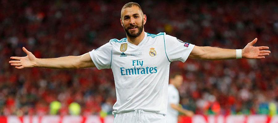 Karim Benzemá espera lucirse en la Copa Internacional de Campeones 2018.