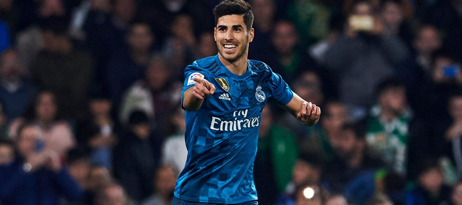 Marco Asensio espera destacar en el juego Athletic Club vs Real Madrid.