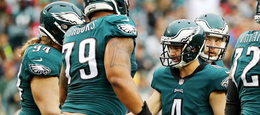 Los Eagles son leves favoritos para la NFL 2018 Semana 1.