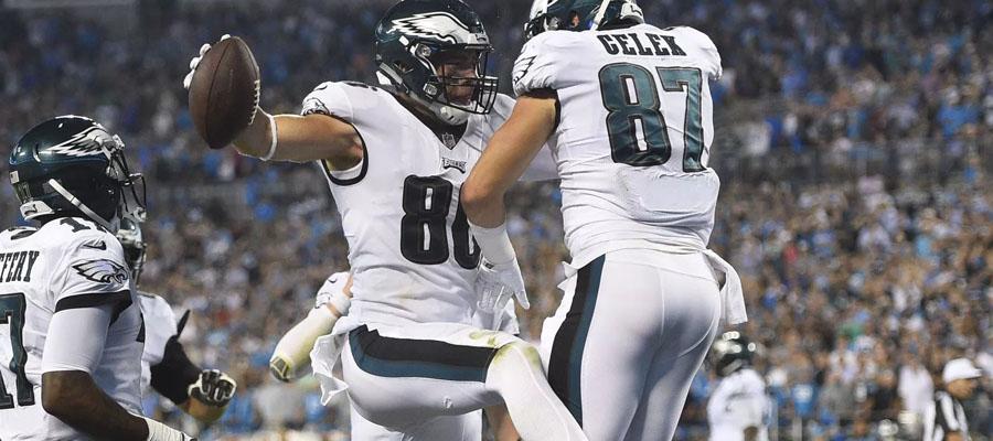 Los Eagles son favoritos para ganar en la NFL 2018 Semana 17.